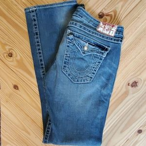 True Religion Disco Billy Big T bootcut jeans 31
